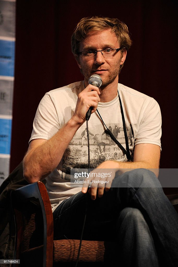 Director Alex Holdrigde attends day 1 of Film Independent's Filmmaker Forum at the Directors Guild Theatre on October 10, 2009 in West Hollywood, California.