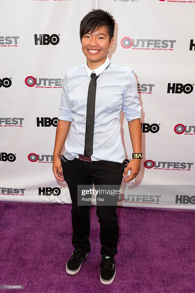 Director Alex Siow arrives at the 13th Annual Outfest Opening Night Gala Of 'C.O.G.' at Orpheum Theatre on July 11, 2013 in Los Angeles, California.