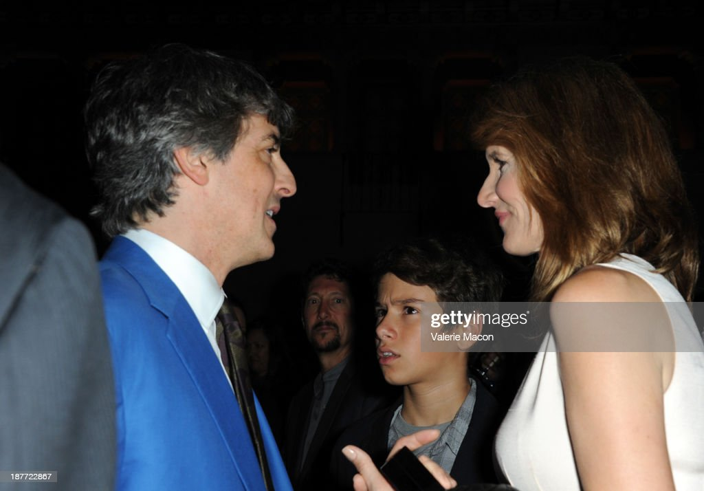 Director <a gi-track='captionPersonalityLinkClicked' href=/galleries/search?phrase=Alexander+Payne&family=editorial&specificpeople=202578 ng-click='$event.stopPropagation()'>Alexander Payne</a> (L) and actress <a gi-track='captionPersonalityLinkClicked' href=/galleries/search?phrase=Laura+Dern&family=editorial&specificpeople=204203 ng-click='$event.stopPropagation()'>Laura Dern</a> attend the Tribute to Bruce Dern with SAG-AFTRA, SAGindie And The National SAGindie Committee during AFI FEST presented by Audi at The Roosevelt Hotel on November 11, 2013 in Hollywood, California.
