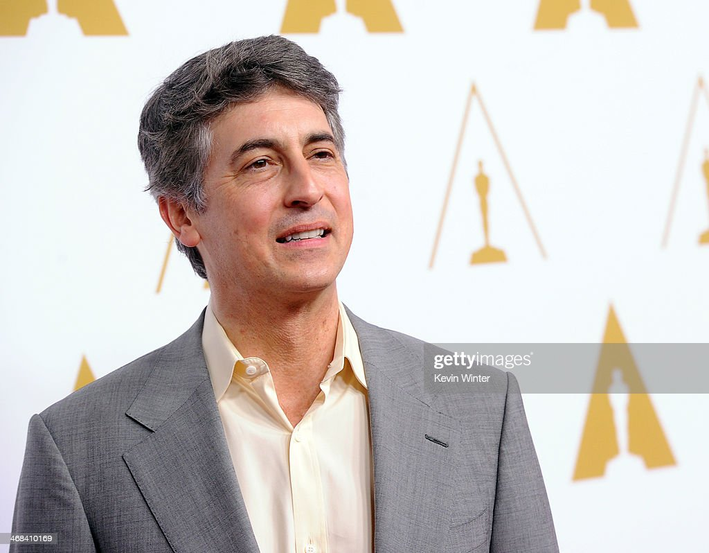 Director <a gi-track='captionPersonalityLinkClicked' href=/galleries/search?phrase=Alexander+Payne&family=editorial&specificpeople=202578 ng-click='$event.stopPropagation()'>Alexander Payne</a> attends the 86th Academy Awards nominee luncheon at The Beverly Hilton Hotel on February 10, 2014 in Beverly Hills, California.