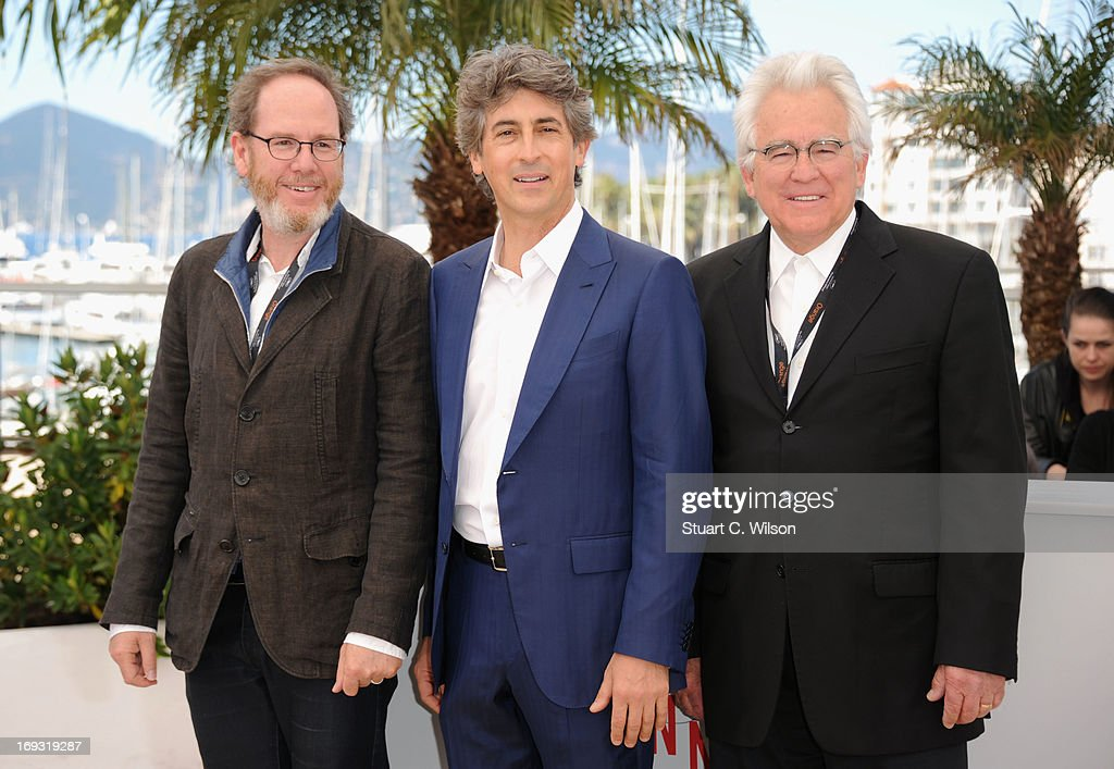 Director Alexander Payne (C) attends the Photocall for 'Nebraska' during The 66th Annual Cannes Film Festival at the Palais des Festival on May 23, 2013 in Cannes, France.