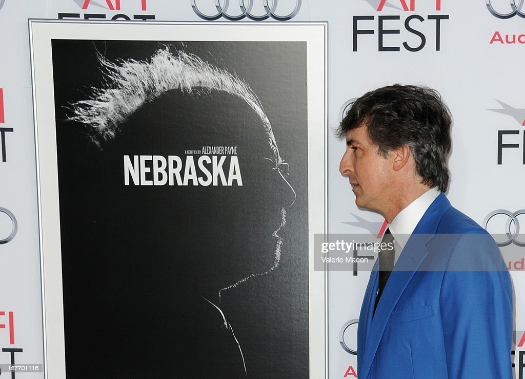 Director <a gi-track='captionPersonalityLinkClicked' href=/galleries/search?phrase=Alexander+Payne&family=editorial&specificpeople=202578 ng-click='$event.stopPropagation()'>Alexander Payne</a> attends the screening of 'Nebraska' during AFI FEST 2013 presented by Audi at TCL Chinese Theatre on November 11, 2013 in Hollywood, California.