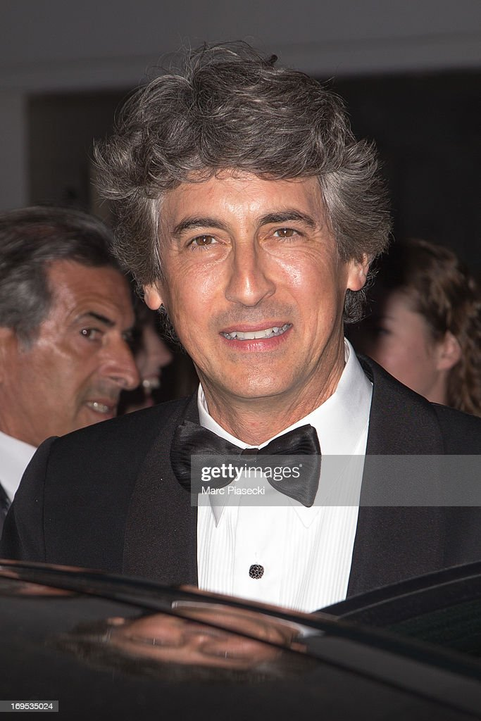 Director Alexander Payne is seen leaving the 'Palais des Festivals' during the 66th Annual Cannes Film Festival on May 26, 2013 in Cannes, France.
