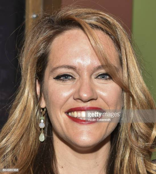 Director Alexandra Dean attends the 'Bombshell The Hedy Lamarr Story' Los Angeles premiere at AMC DineIn Sunset 5 on December 3 2017 in Los Angeles...