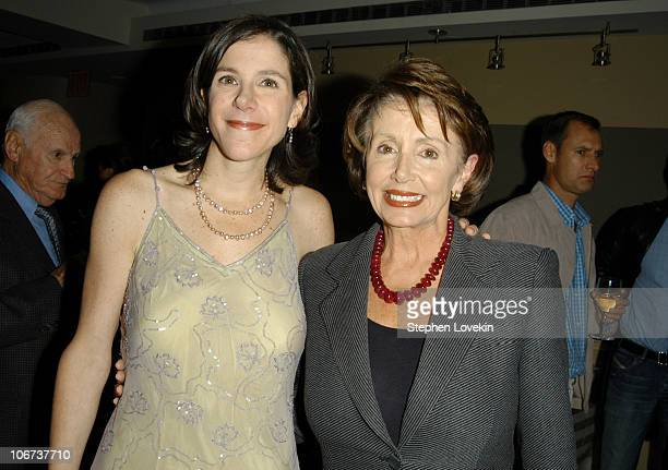 Director Alexandra Pelosi and Nancy Pelosi during HBO Presents the Documentary Special 'Diary of A Political Tourist' Arrivals and After Party at The...