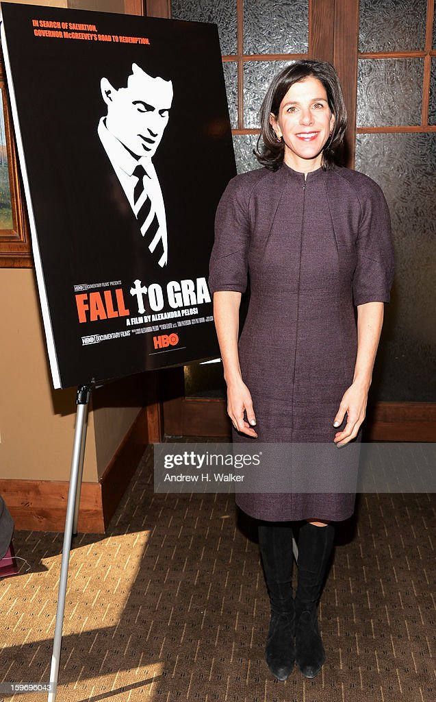 Director Alexandra Pelosi attends the 'Fall To Grace' and 'The Battle Of AMFAR' Brunch hosted by HBO on January 18, 2013 in Park City, Utah.