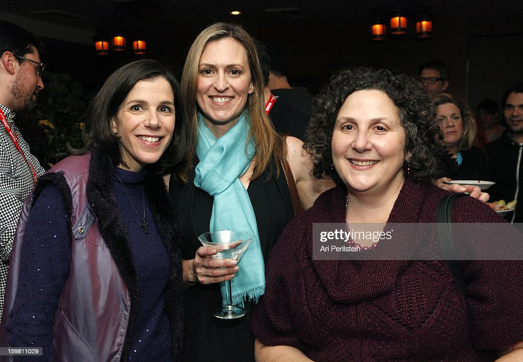 Director Alexandra Pelosi, Nada Bakos and Cindy Storer attend the HBO Documentary Films Sundance Party on January 20, 2013 in Park City, Utah.