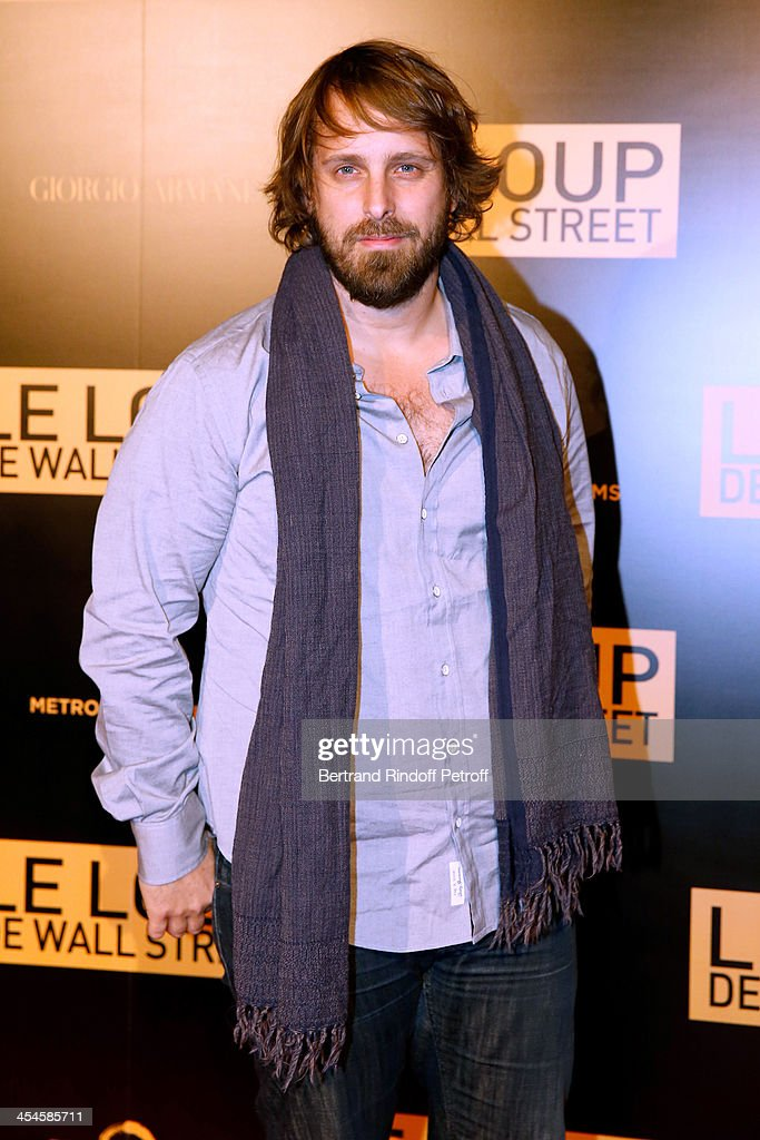 Director Alexandre Aja attends the photocall before the party for 'The Wolf of Wall Street' World Premiere. Held at Palais Brogniart on December 9, 2013 in Paris, France.