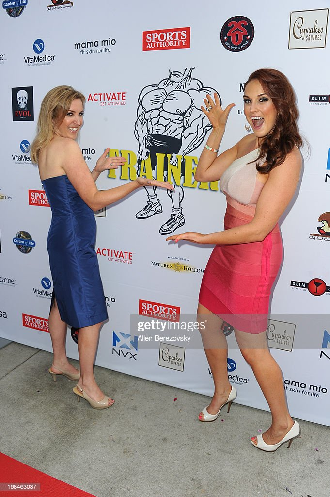 Director Alexa-Sascha Lewin (L) and Selah Victor arrive at the Los Angeles premiere of a new comedy series 'Trainers' at Fox Studio Lot on May 9, 2013 in Century City, California.