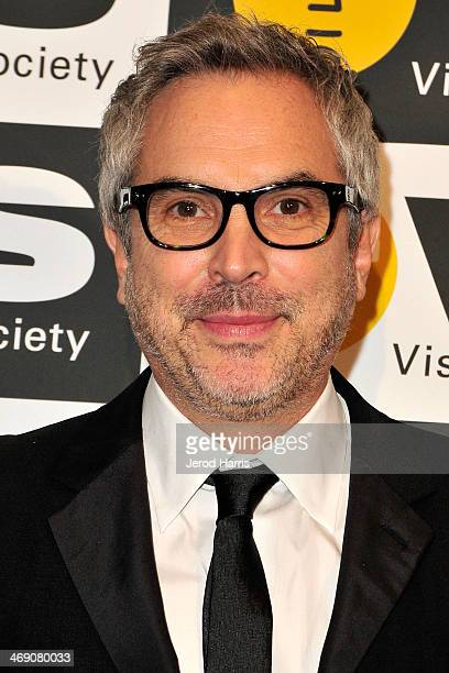 Director Alfonso Cuarón attends the Visual Effects Society's 12th Annual VES Awards at The Beverly Hilton Hotel on February 12 2014 in Beverly Hills...