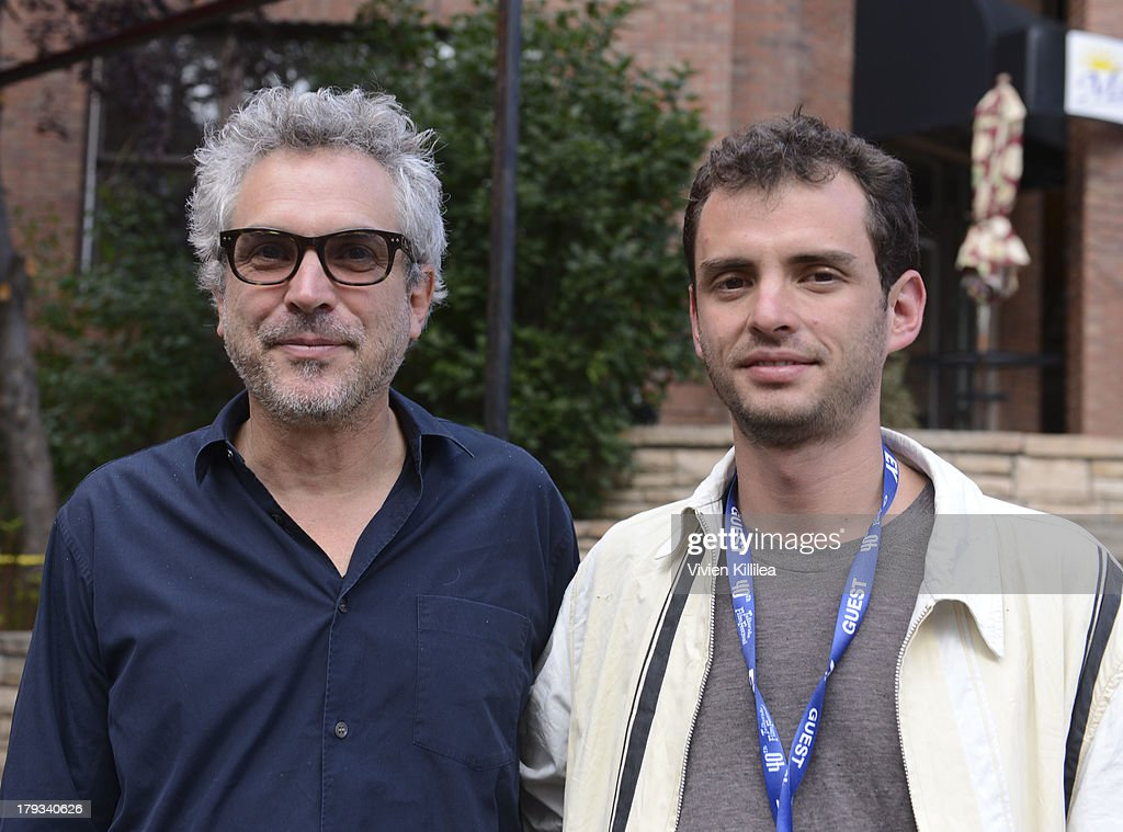Director <a gi-track='captionPersonalityLinkClicked' href=/galleries/search?phrase=Alfonso+Cuaron&family=editorial&specificpeople=213792 ng-click='$event.stopPropagation()'>Alfonso Cuaron</a> and writer Jonas Cuaron attend the 2013 Telluride Film Festival - Day 4 on September 1, 2013 in Telluride, Colorado.