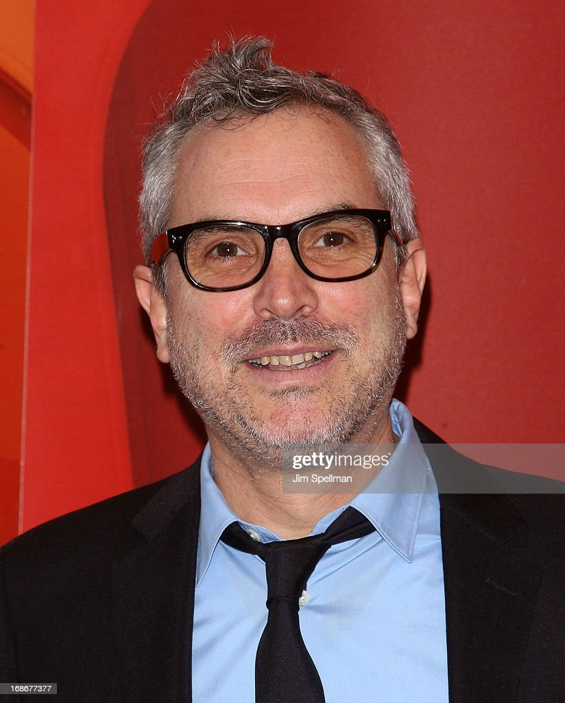 Director Alfonso Cuaron attends 2013 NBC Upfront Presentation Red Carpet Event at Radio City Music Hall on May 13, 2013 in New York City.