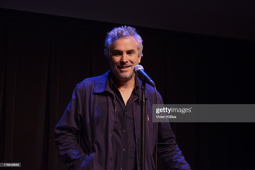 Director <a gi-track='captionPersonalityLinkClicked' href=/galleries/search?phrase=Alfonso+Cuaron&family=editorial&specificpeople=213792 ng-click='$event.stopPropagation()'>Alfonso Cuaron</a> attends a screening of Gravity at the 2013 Telluride Film Festival - Day 4 on September 1, 2013 in Telluride, Colorado.