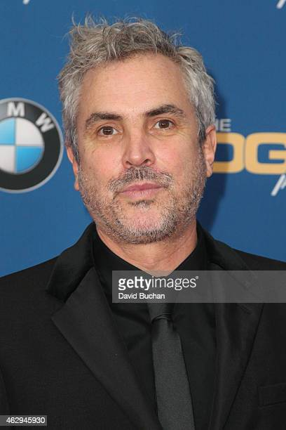 Director Alfonso Cuaron attends the 67th Annual Directors Guild Of America Awards at the Hyatt Regency Century Plaza on February 7 2015 in Century...