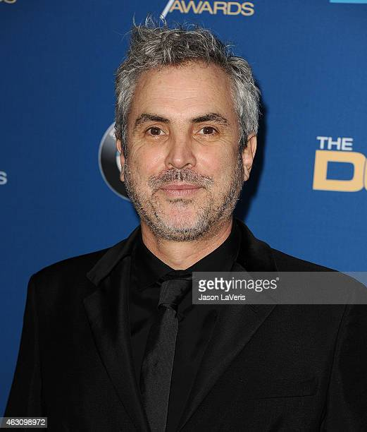 Director Alfonso Cuaron attends the 67th annual Directors Guild of America Awards at the Hyatt Regency Century Plaza on February 7 2015 in Los...