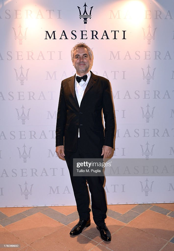 Director Alfonso Cuaron attends the 70th Venice International Film Festival at Terrazza Maserati on August 28, 2013 in Venice, Italy.