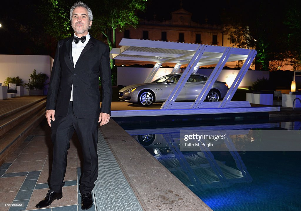 Director <a gi-track='captionPersonalityLinkClicked' href=/galleries/search?phrase=Alfonso+Cuaron&family=editorial&specificpeople=213792 ng-click='$event.stopPropagation()'>Alfonso Cuaron</a> attends the 70th Venice International Film Festival at Terrazza Maserati on August 28, 2013 in Venice, Italy.