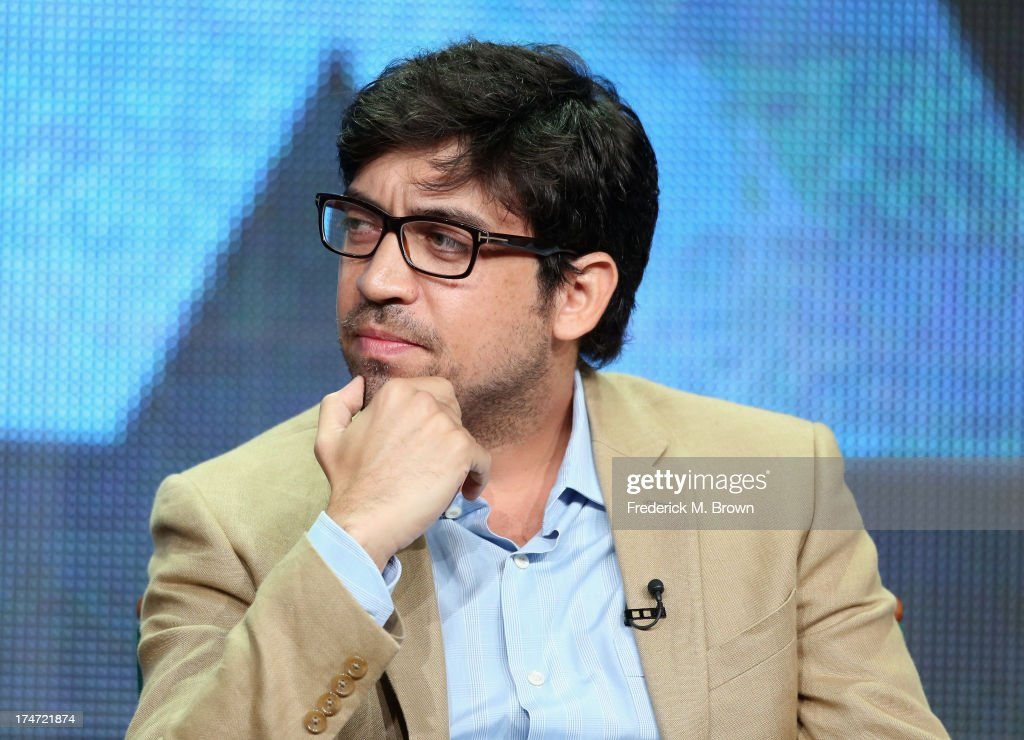 Director Alfonso Gomez-Rejon speaks onstage during 'FX Directors' panel as part of the 2013 Summer Television Critics Association tour at the Beverly Hilton Hotel on July 28, 2013 in Beverly Hills, California.