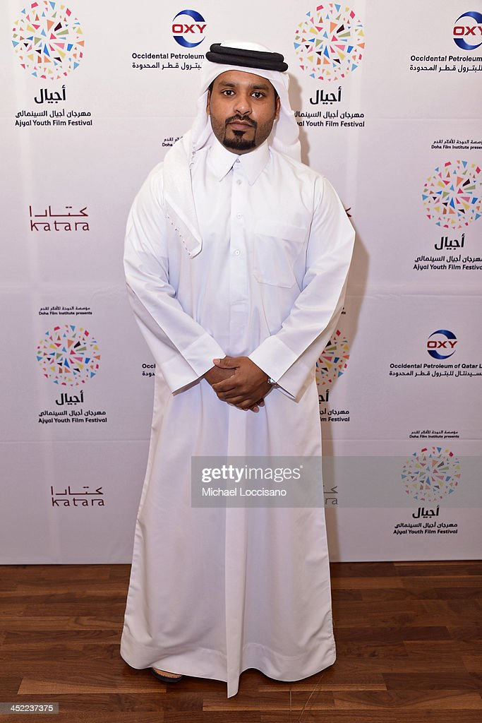 Director Ali Al Mehdi attends the panel 'Made in Qatar' during Day two of the Ajyal Youth Film Festival on November 27, 2013 in Doha, Qatar.