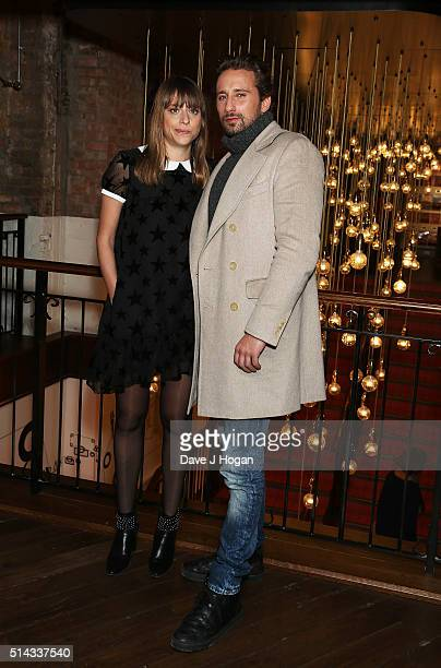 Director Alice Winocour and Actor Matthias Schoenaerts attend the UK gala screening of 'Disorder' at Picturehouse Central on March 8 2016 in London...