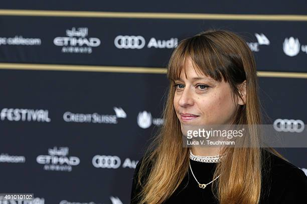 Director Alice Winocour attends the 'Maryland' Premiere during the Zurich Film Festival on October 2 2015 in Zurich Switzerland The 11th Zurich Film...