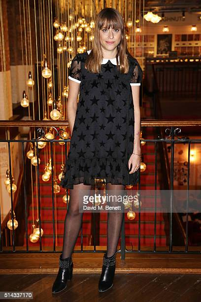 Director Alice Winocour attends the UK Gala Screening of 'Disorder' at Picturehouse Central on March 8 2016 in London England