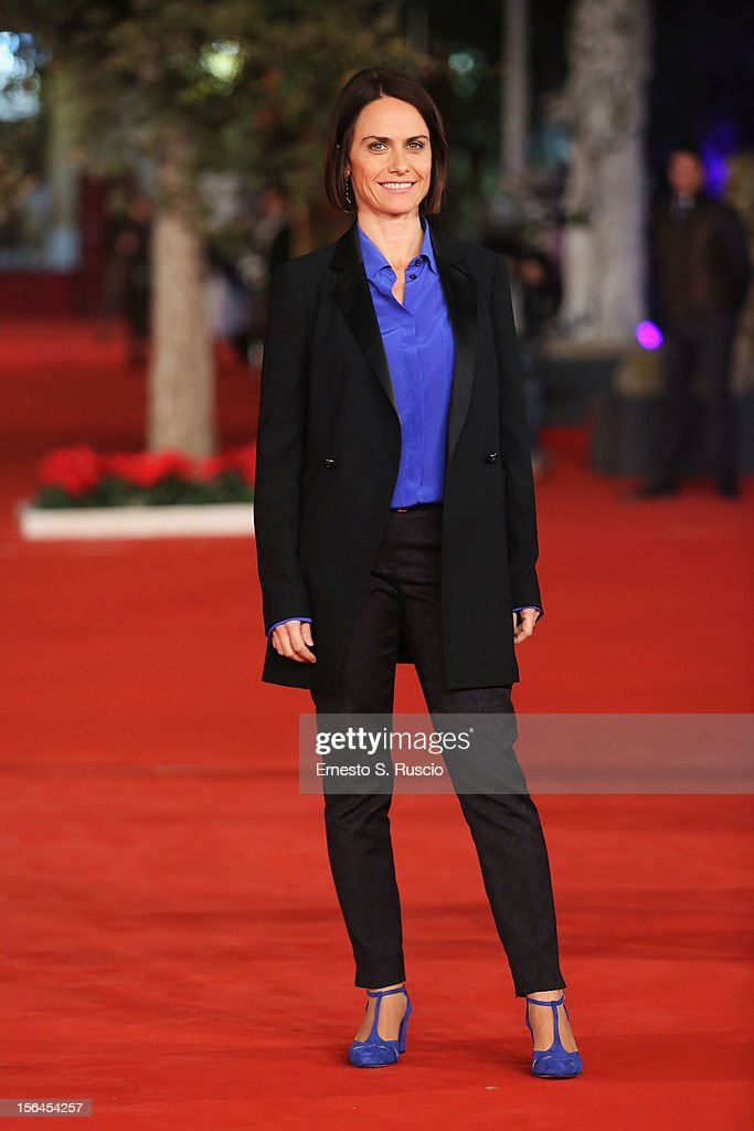 Director Alina Marazzi attends the 'Tutto Parla Di Te' Premiere during the 7th Rome Film Festival at the Auditorium Parco Della Musica on November 15, 2012 in Rome, Italy.