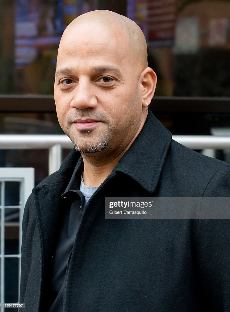 Director Allen Hughes Visits FOX 29's 'Good Day' Morning Show to promote his new movie 'Broken City' at FOX 29 Studio on January 9, 2013 in Philadelphia, Pennsylvania.