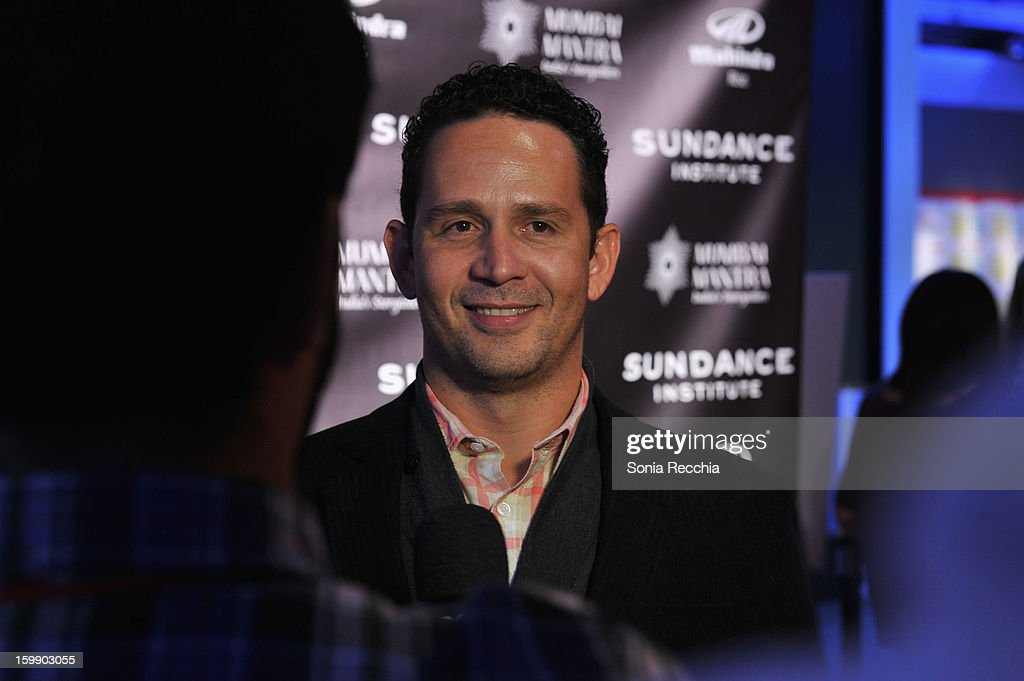 Director Aly Muritiba attends the Sundance Institute Mahindra Global Filmmaking Award Reception at Sundance House on January 22, 2013 in Park City, Utah.