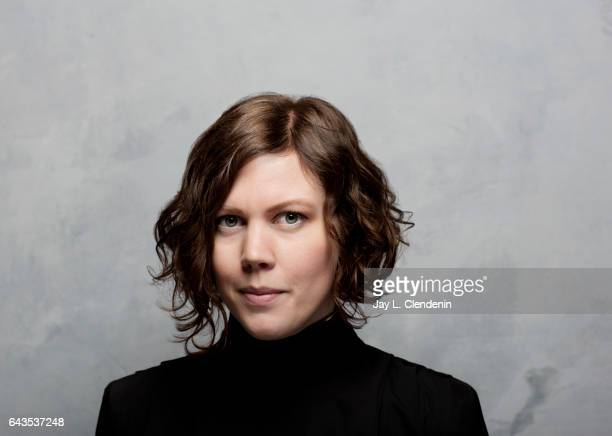 Director Amanda Kernell from the film 'Sami Blood' is photographed at the 2017 Sundance Film Festival for Los Angeles Times on January 19 2017 in...