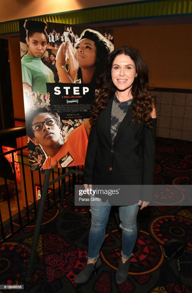 Director Amanda Lipitz at 'Step' documentary Atlanta screening at Regal Cinemas Atlantic Station Stadium 16 on July 16, 2017 in Atlanta, Georgia.