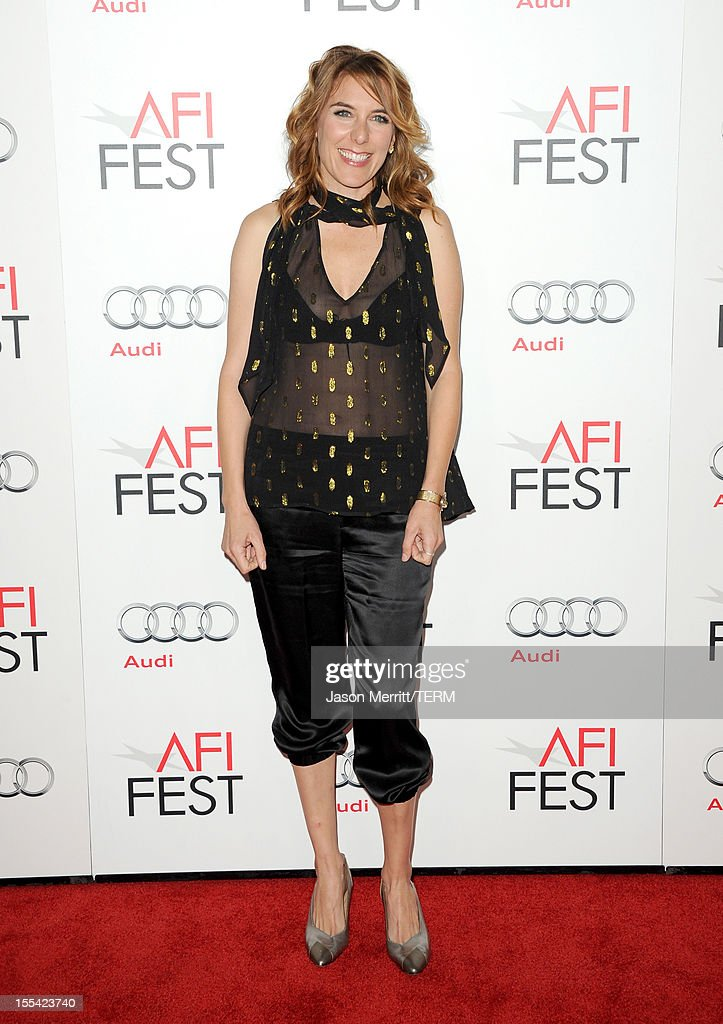 Director Amy Berg arrives at the 'West of Memphis' special screening during the 2012 AFI Fest at Grauman's Chinese Theatre on November 3, 2012 in Hollywood, California.