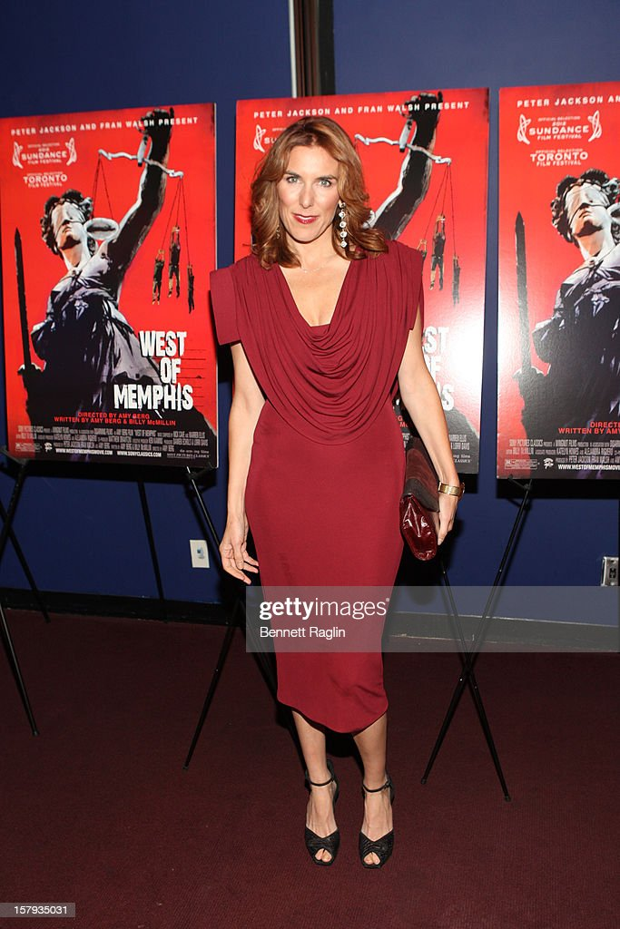 Director Amy Berg attends the 'West Of Memphis' premiere at Florence Gould Hall on December 7, 2012 in New York City.