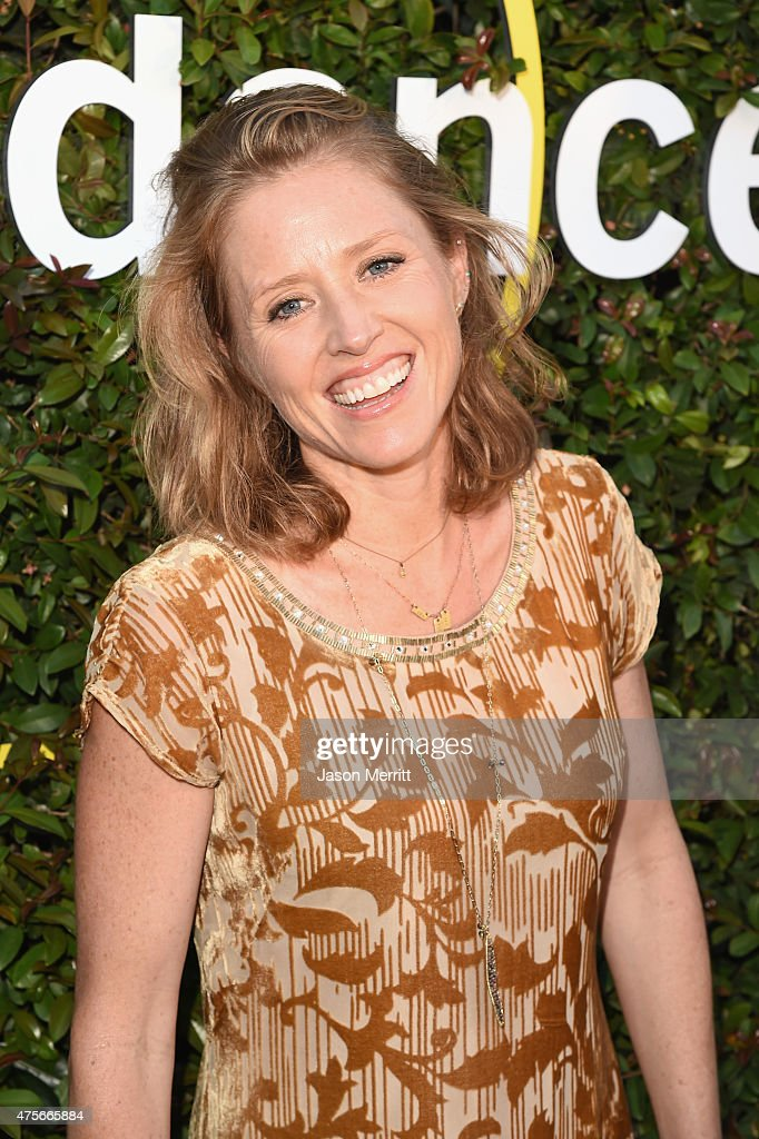 Director Amy Redford attends the 2015 Sundance Institute Celebration Benefit at 3LABS on June 2, 2015 in Culver City, California.