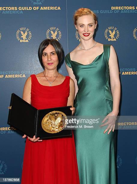 Director Amy Schatz winner of the award for Outstanding Directorial Achievement in Children's Programs for 'A Child's Garden of Poetry' and presenter...