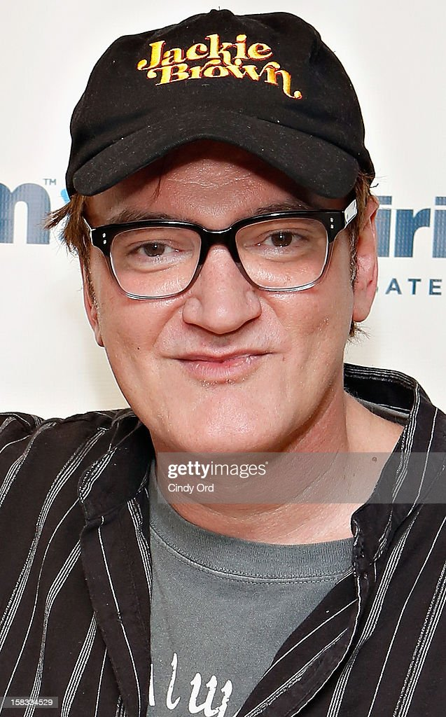 Director and Academy Award winning writer Quentin Tarantino visits the SiriusXM Studios on December 13, 2012 in New York City.