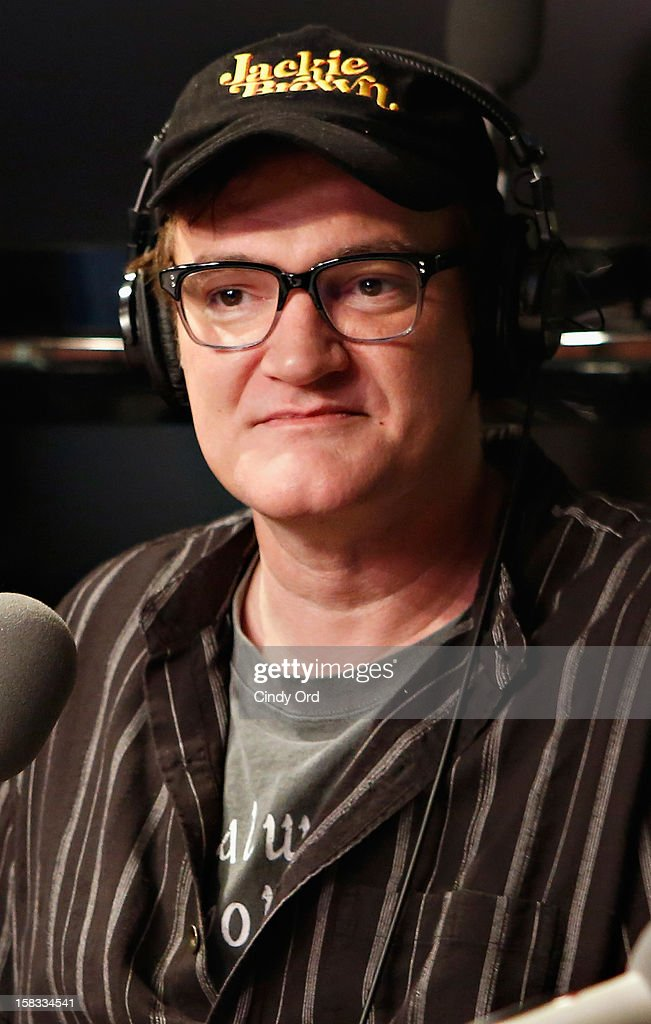 Director and Academy Award winning writer Quentin Tarantino visits 'The Opie & Anthony Show' at the SiriusXM Studios on December 13, 2012 in New York City.