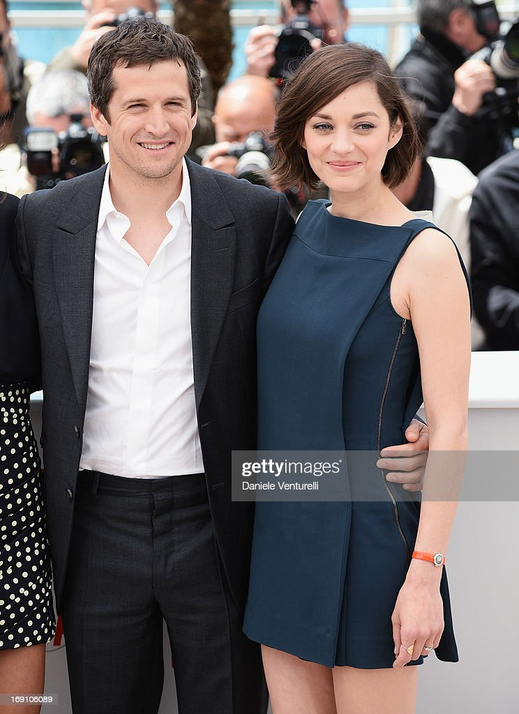 Director and actor Guillaume Canet and actress Marion Cotillard attend the photocall for 'Blood Ties' during the 66th Annual Cannes Film Festival at...