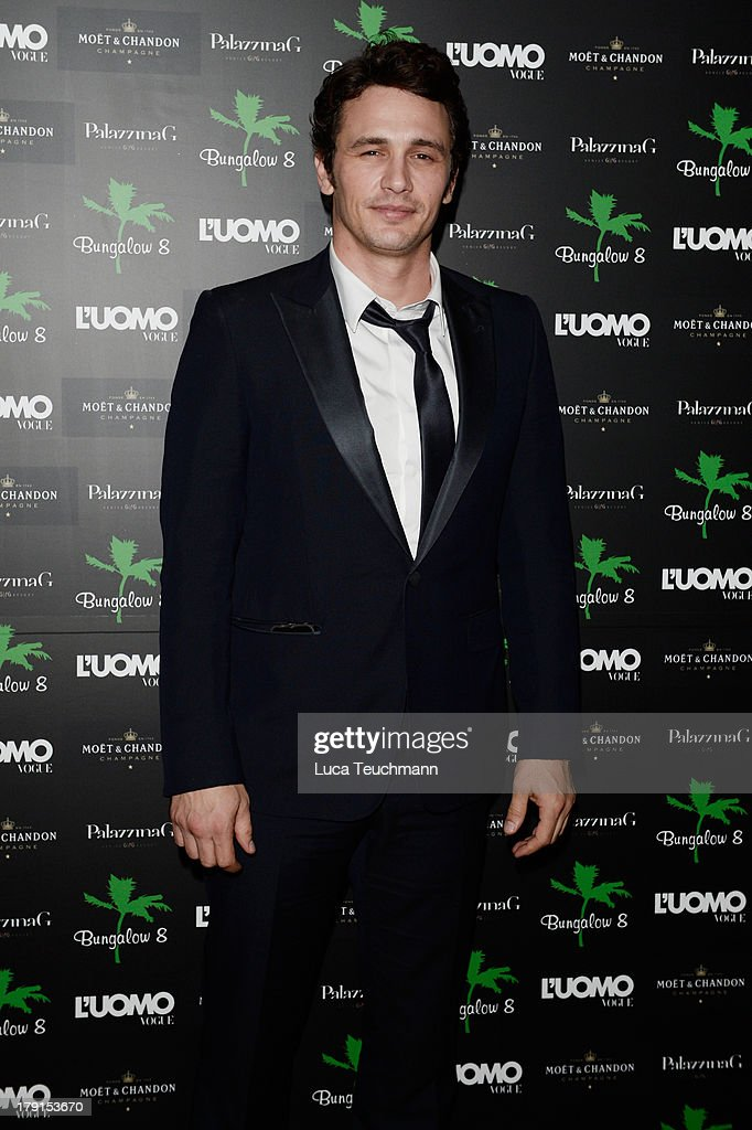 Director and actor James Franco attends Bungalow 8 James Franco Venice Film Festival Premiere Party for Child of God and Palo Alto during the 70th...