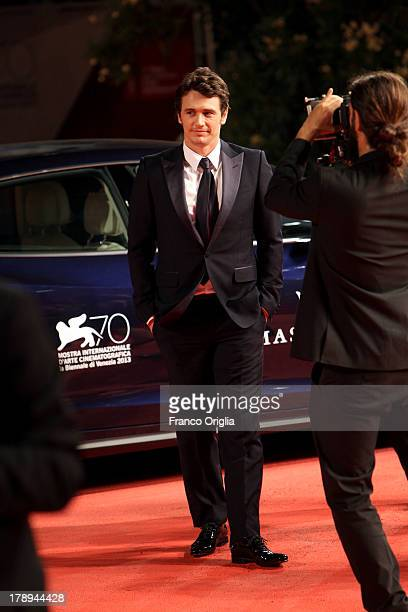 Director and actor James Franco attends the 'Child of God' Premiere during the 70th Venice International Film Festival at Sala Grande on August 31...