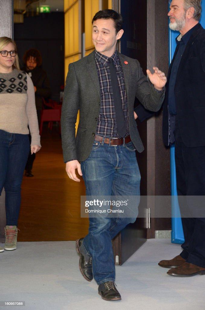 Director and actor Joseph Gordon Levitt attends 'Don Jon's Addiction' Photocall during the 63rd Berlinale International Film Festival at the Grand Hyatt Hotel on February 8, 2013 in Berlin, Germany.