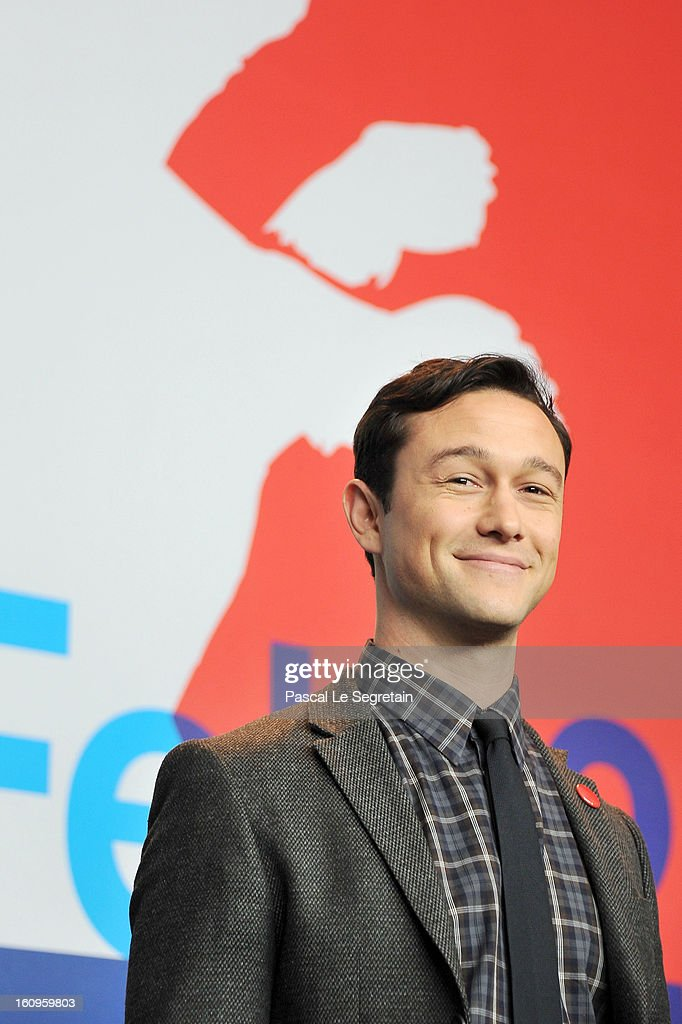 Director and actor Joseph Gordon Levitt attends 'Don Jon's Addiction' Press Conference during the 63rd Berlinale International Film Festival at the Grand Hyatt Hotel on February 8, 2013 in Berlin, Germany.