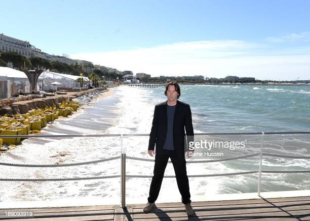Director and actor Keanu Reeves attends the photocall for 'The Man of Tai Chi' at The 66th Annual Cannes Film Festival on May 20 2013 in Cannes France
