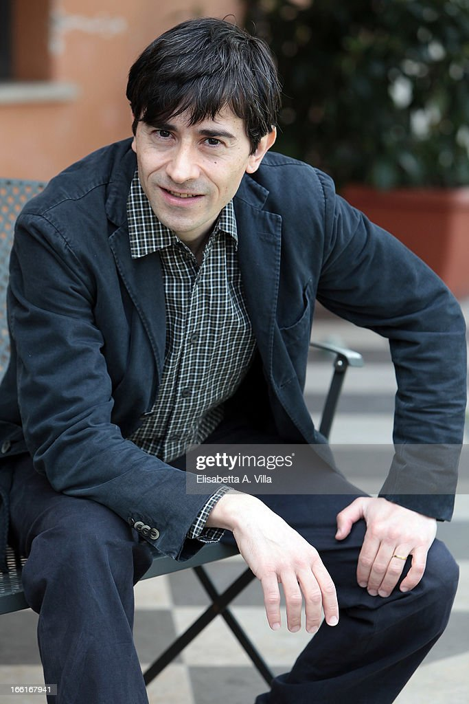 Director and actor Luigi Lo Cascio attends 'La Citta Ideale' photocall at Casa del Cinema on April 9, 2013 in Rome, Italy.