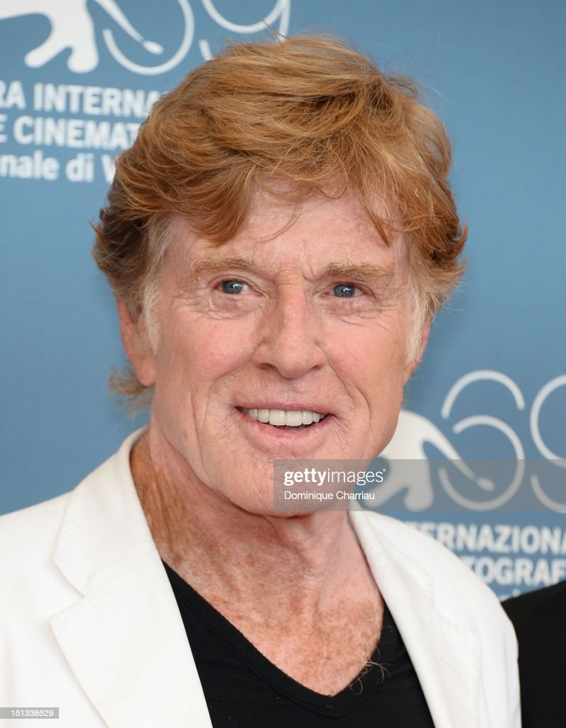Director and actor Robert Redford attends 'The Company You Keep' Photocall during the 69th Venice Film Festival at the Palazzo del Casino on...