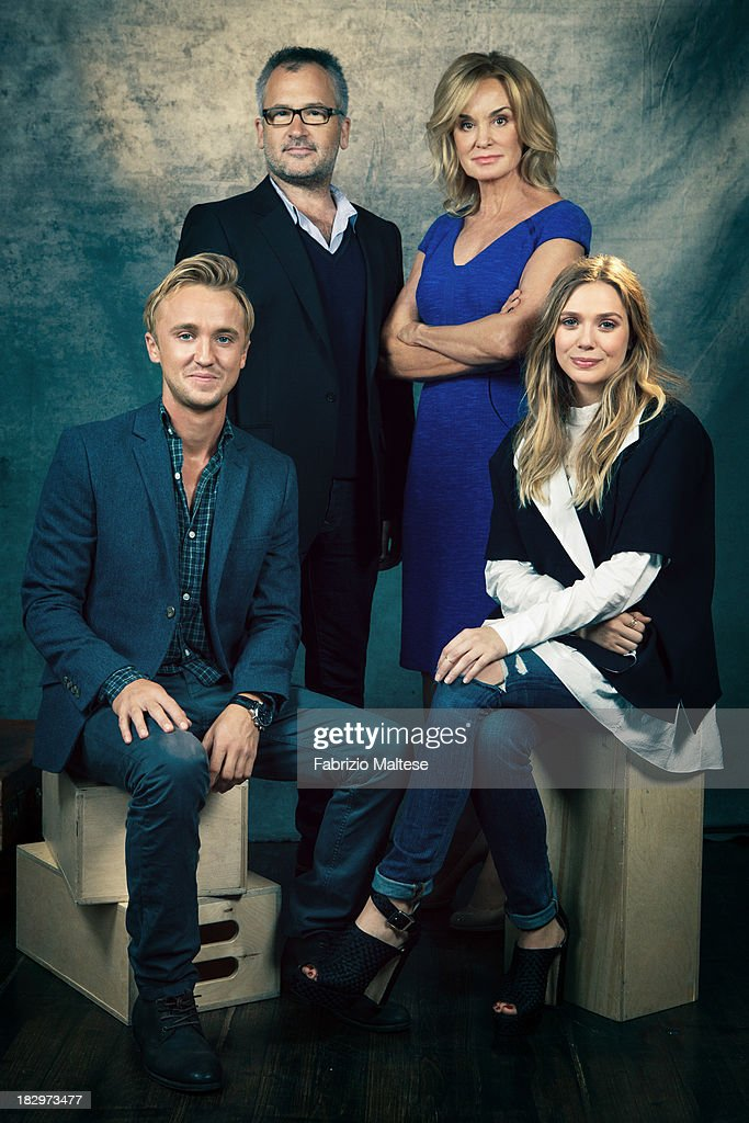 Director and actors Jessica Lange, Tom Felton, Elizabeth Olsen, Charlie Stratton are photographed for The Hollywood Reporter during the 38th annual Toronto International Film Festival on September 9, 2013 in Toronto, Ontario. ON INTERNATIONAL EMBARGO (USA) UNTIL DECEMBER 27, 2013.