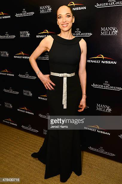 Director and Actress Carmen Chaplin attends a private screening and intimate dinner hosted by Carmen and Dolores Chaplin Mann Miller with the support...