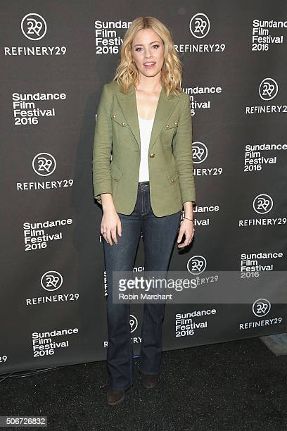 Director and actress Elizabeth Banks attends the Women At Sundance Brunch during the 2016 Sundance Film Festival at The Shop on January 25 2016 in...