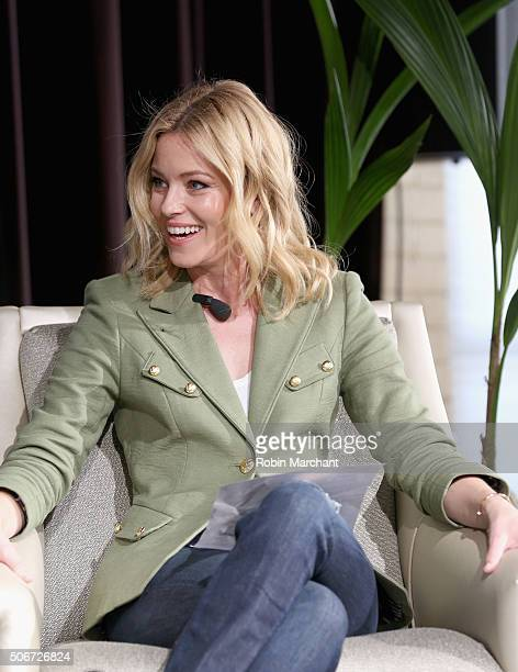 Director and actress Elizabeth Banks speaks on stage during the Women At Sundance Brunch during the 2016 Sundance Film Festival at The Shop on...