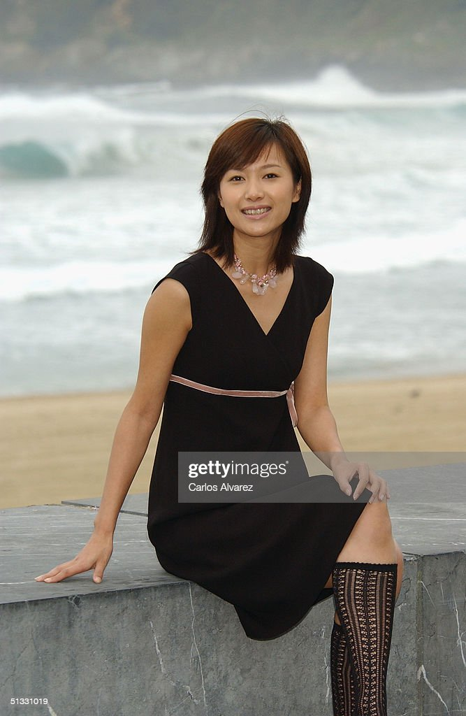 Director and actress Jinglei Xu attends the Photocall for her movie 'A Letter from an Unknown Woman' on the fifth day of the 52nd San Sebastian...